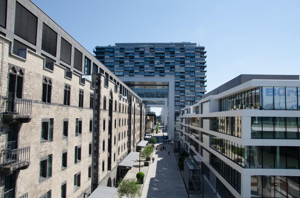 Architektur im Zollhafen